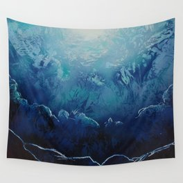 Ice Cavern Wall Tapestry