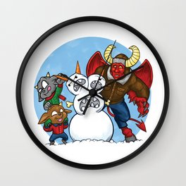 When Hell Freezes Over Wall Clock