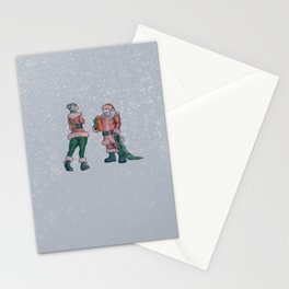 The last gift of the night Stationery Cards