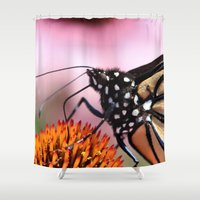 furry Shower Curtains featuring Furry Fellow by IowaShots