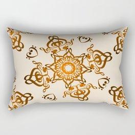 Musical Henna Rectangular Pillow