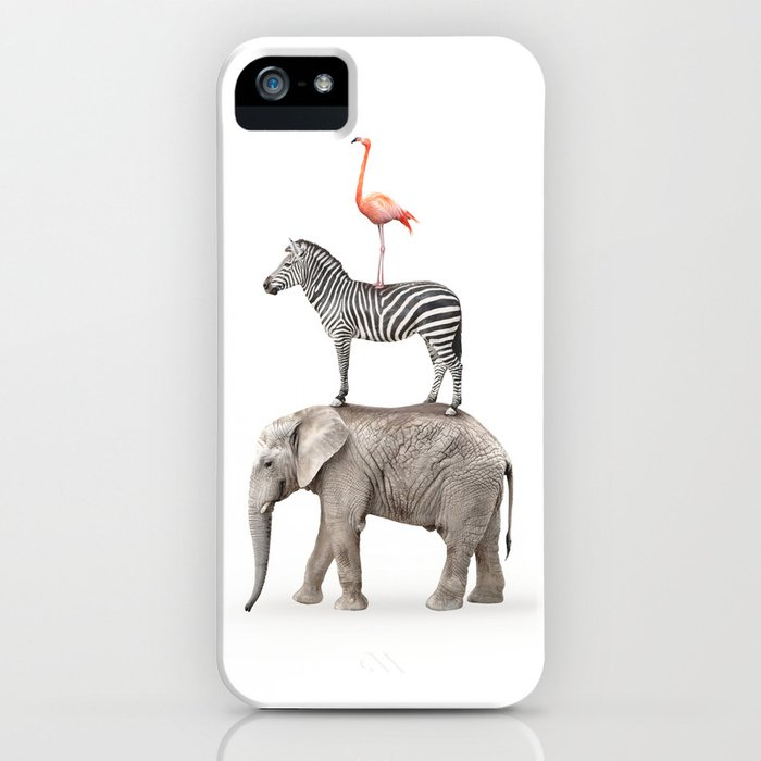 Stacked Safari Animals iPhone Case