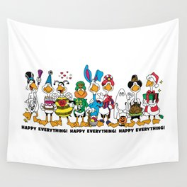 Happy Everything! Wall Tapestry