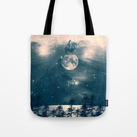 One Day I Fell from My Moon Cottage... Tote Bag