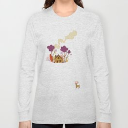 Cabin in Woods Long Sleeve T-shirt