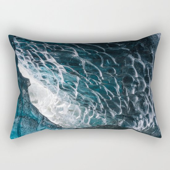 Cave of waves Rectangular Pillow