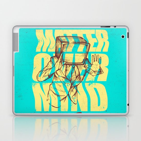 Matter Over Mind Laptop & iPad Skin