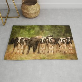 Curious Cows Rug