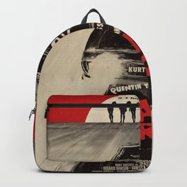 Death Proof Movie Poster Written And Directed By Quentin Tarantino Spanish Version Artwork, Posters, Backpack