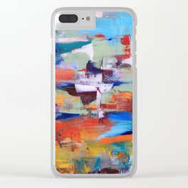 Floating thoughts Clear iPhone Case