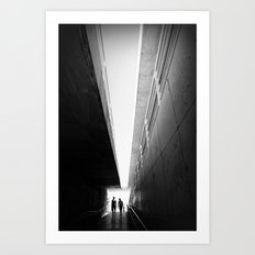 Perspective for two Art Print