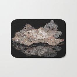 """""""Reflections"""" - Metal Sculpture - Fish Bath Mat"""