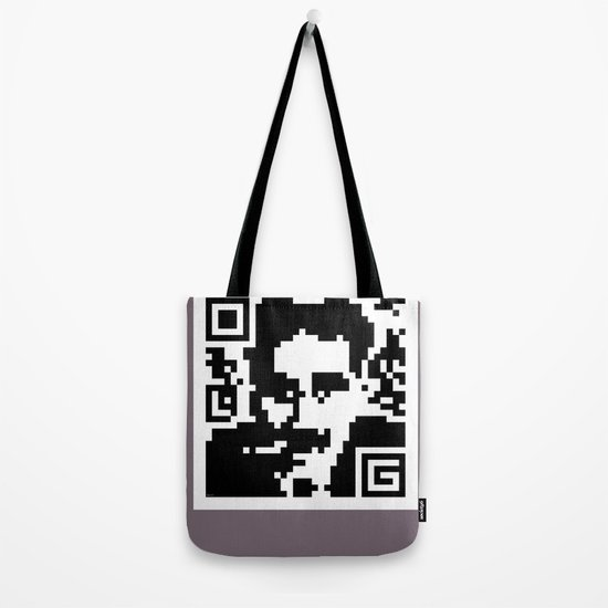 QR- Groucho Tote Bag