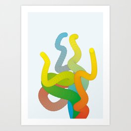 Tentickles Art Print