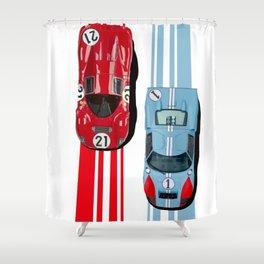 FordvFerrari '66 Shower Curtain