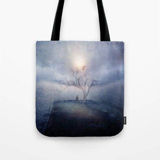 Blue sunrise Tote Bag