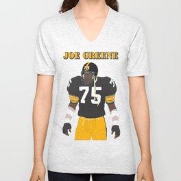 Steelers - Joe Greene - 1978 (Vector Art) Unisex V-Neck