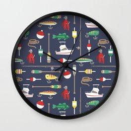Bait & Sail Wall Clock