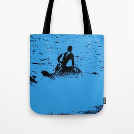 Blue Waters - Jet Ski Fun Tote Bag