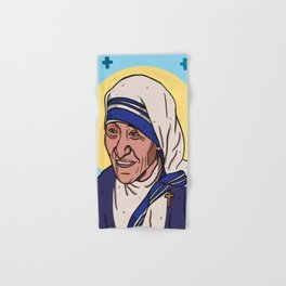 Mother Teresa Hand & Bath Towel