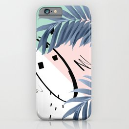 Summer Palms Cali Vibes Abstract Glam #1 #tropical #decor #art #society6 iPhone Case