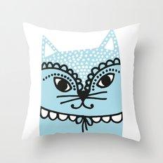 Katze #1 Throw Pillow