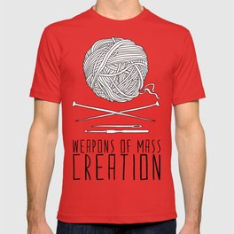 Weapons Of Mass Creation - Knitting T-shirt