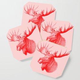 Moose red Coaster