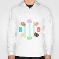 macarons Hoodies featuring Macarons by ASHEFACE DESIGNS