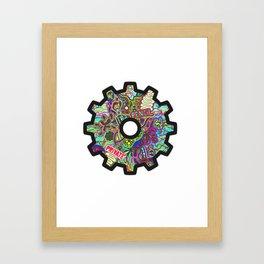 Cog Framed Art Print