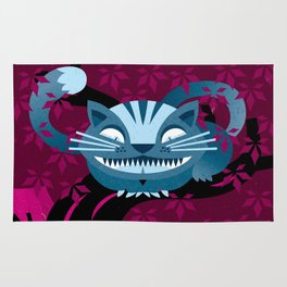 Cheshire smile Rug