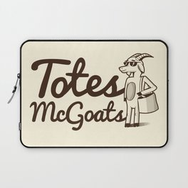 Totes McGoats Laptop Sleeve