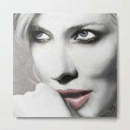 Cate Blanchett Metal Print