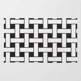 Plane Weave Seamless Pattern. Rug