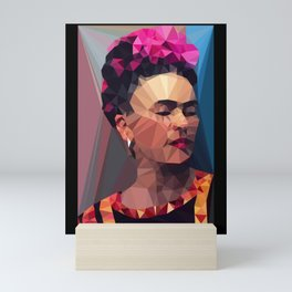 Techy Fridart Mini Art Print