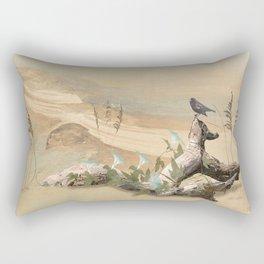 Beach Oasis Rectangular Pillow