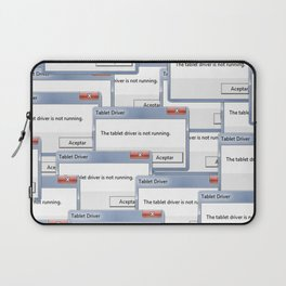 The tablet driver is not running Laptop Sleeve