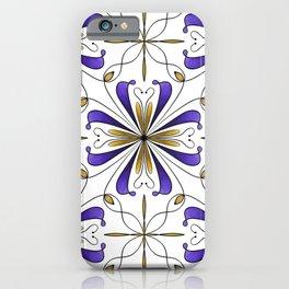 Tile of Dreams - Purple iPhone Case