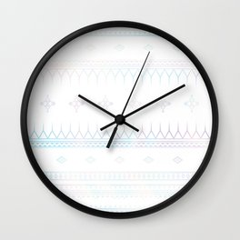 Holographic Bohemian Wall Clock