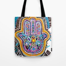 Hamsa Hand II Tote Bag