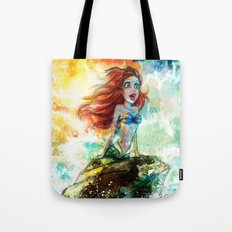 ~~ Someday I'll be part of your wooooorld~~  Tote Bag