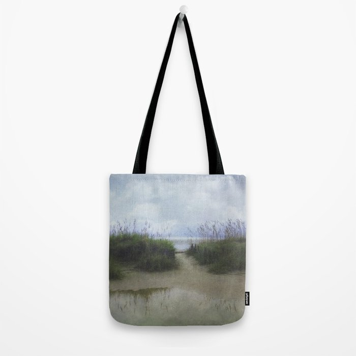 Morning at Tybee Tote Bag