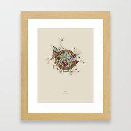 Celtic Initial C Framed Art Print