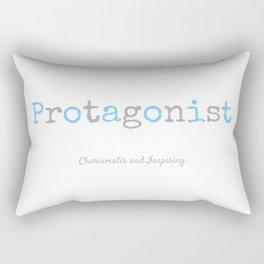 Protagonist Rectangular Pillow