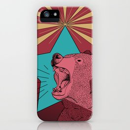 Star Beary iPhone Case