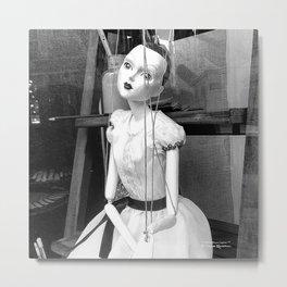 The hanged mistress Metal Print