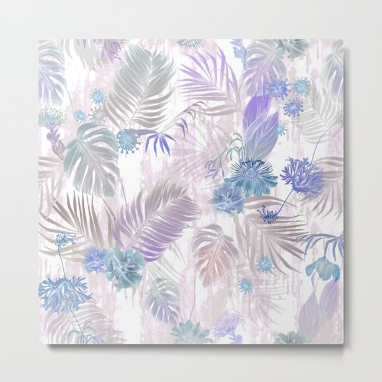 Tropical Iridescence- Pastels  Metal Print