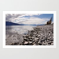 Lake Te Anau Art Print