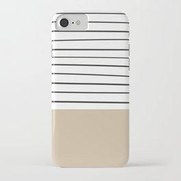 MARINERAS CREAM iPhone Case