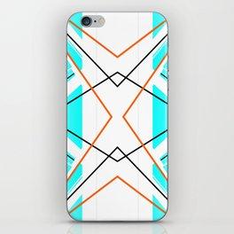 Bay - geometric abstract art iPhone Skin